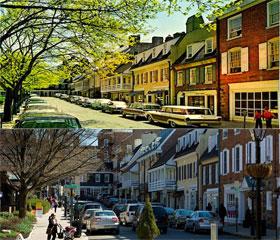 Palmer Square Princeton NJ