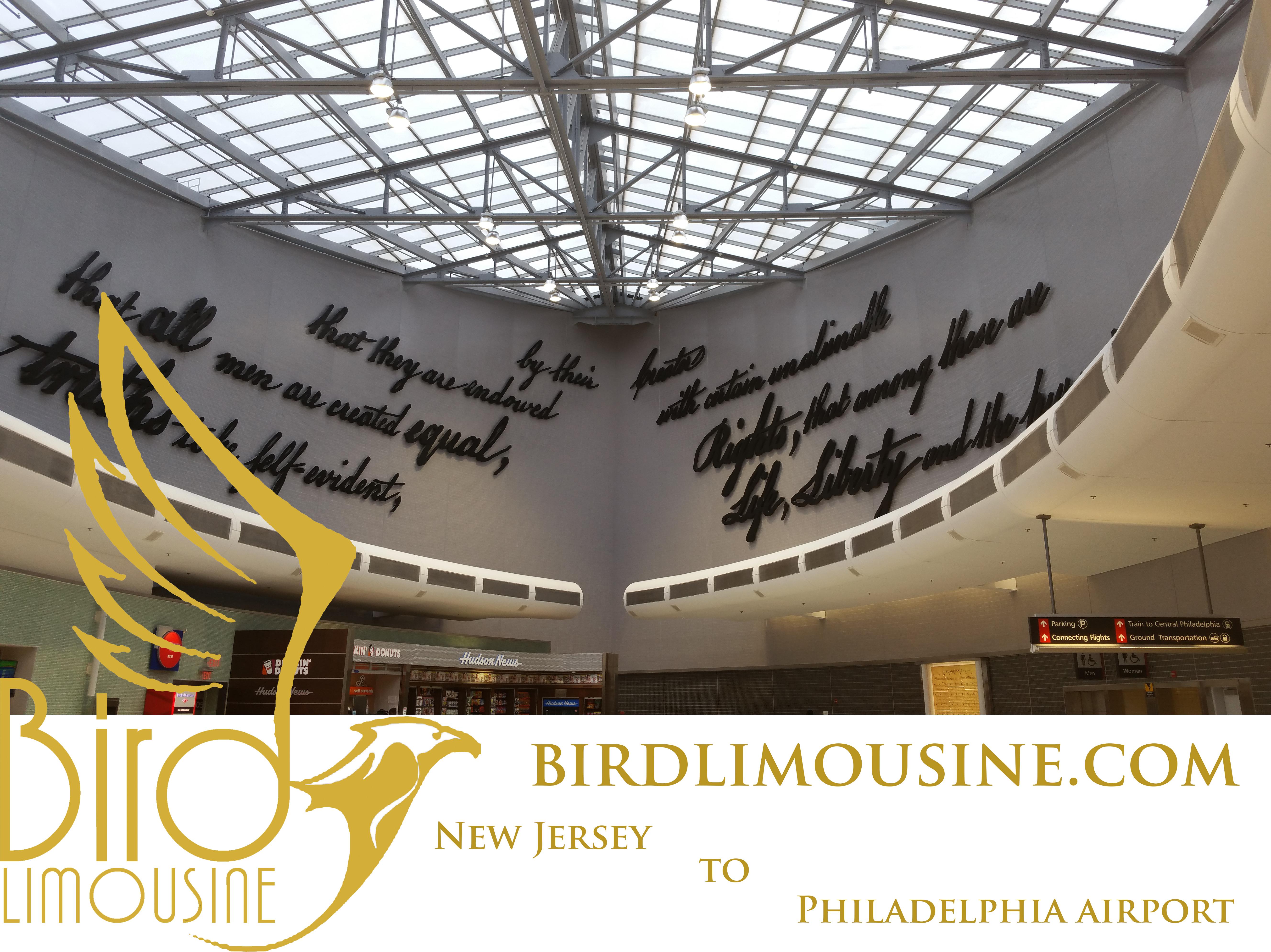 Bird Limousine in West Windsor NJ - The word in Airport